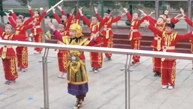 有模有样!湖南50名小学生集体演绎《木兰辞》