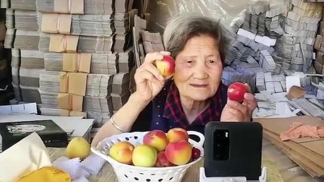 要说直播带货,你可能玩不过这位80岁老奶奶