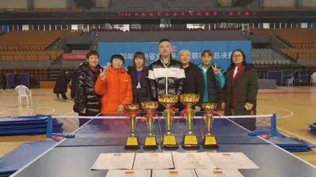 厉害!桐梓乒乓球选手在全省获奖啦!