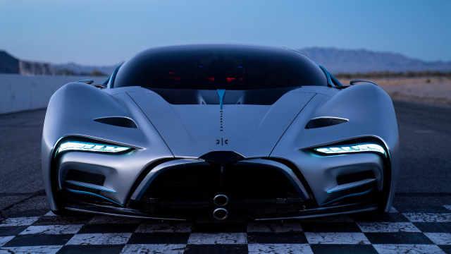 2.2秒破百,最高时速356公里,这款氢能超跑果然够劲!