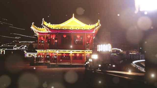 俯瞰醉美庆州夜