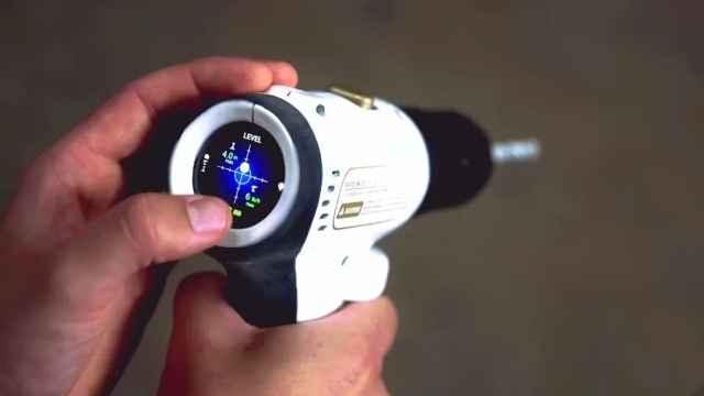 这款电钻,可智能测距并精准定位,小白亦可秒变大神!
