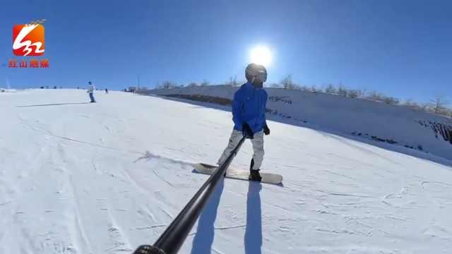 主播带你去个滑雪的好去处,走起!