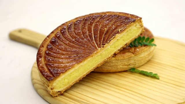 经典国王饼:没有开酥机的,手工擀制看这里