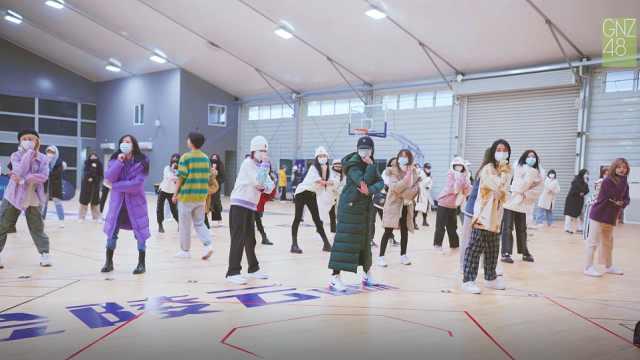 SNH48 GROUP第七届年度金曲大赏GNZ48排练日常花絮PART1
