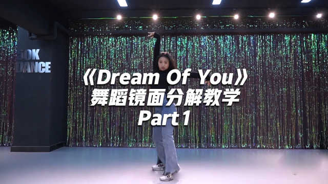 金请夏《Dream Of You》舞蹈镜面分解教学Part1