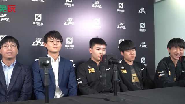 RNG赛后群访 - Xiaohu:2000杀更多可能是纪念我这六年以来…