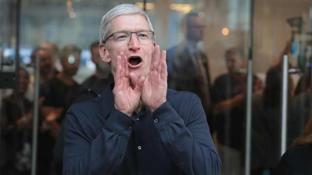 库克拒绝回应苹果汽车:哈哈,我选择不回答