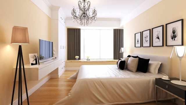卧室该舍弃床头柜了,靠墙塞15公分宽薄柜,收纳何止多2倍!