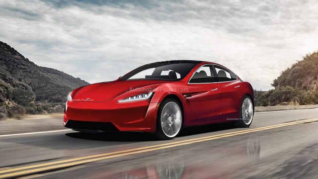 新款特斯拉Model S曝光,外观内饰大变样