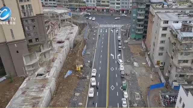 桐梓城区又一条路建成通车啦!