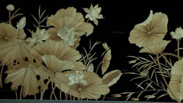 美!千年前宫廷芦苇画,被新疆百余名村民传承