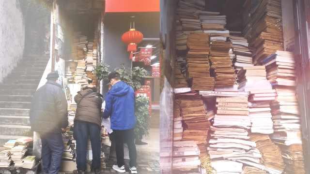 雕塑工守3平方旧书摊20年:边读书边交友,读好书就是养生