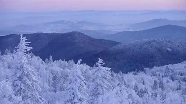 东北这座山名字低调,年均降雪量2米多,雪景特壮观