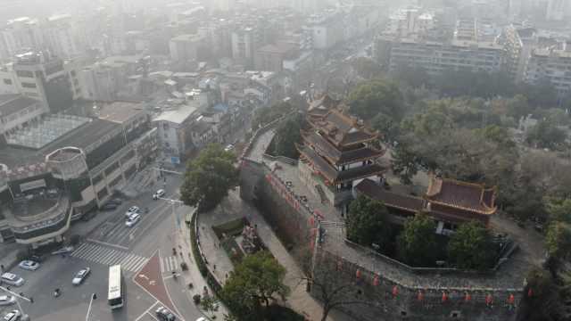 湖南长沙天心阁下藏两条密道:一条通繁华市中心,一条通城外