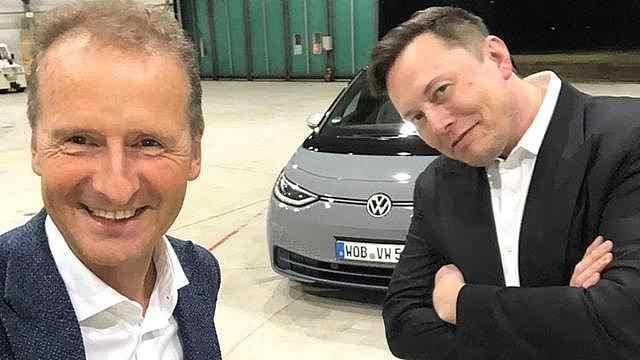 大众CEO迪斯:大众比特斯拉好,比任何车企都好
