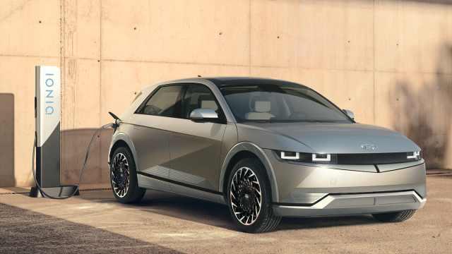 现代首款量产电动车IONIQ5发布,续航超ModelY