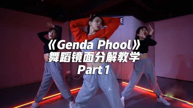 JaneKim《Genda Phool》舞蹈镜面分解教学Part1