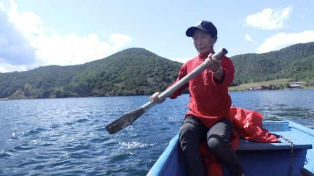 泸沽湖摩梭族划船手:月入过万却不愿孩子接班