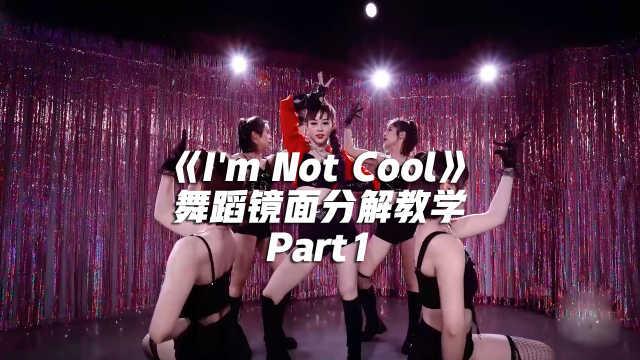 金泫雅《I'm Not Cool》舞蹈镜面分解教学Part1