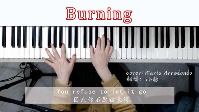 风靡全球欧美经典歌曲《Burning》钢琴弹唱