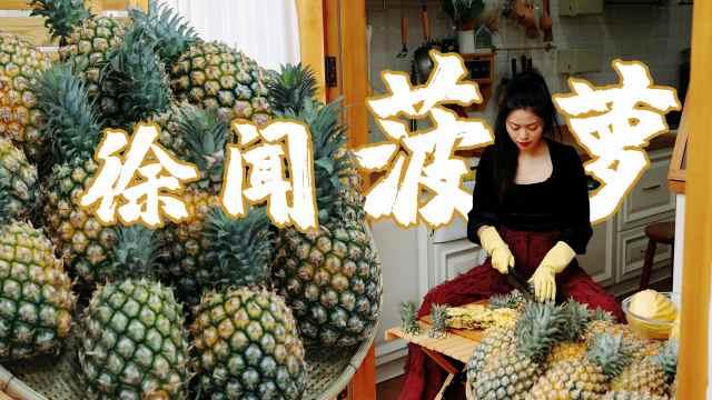 全国菠萝看广东,广东菠萝看徐闻,菠萝吃法看二十
