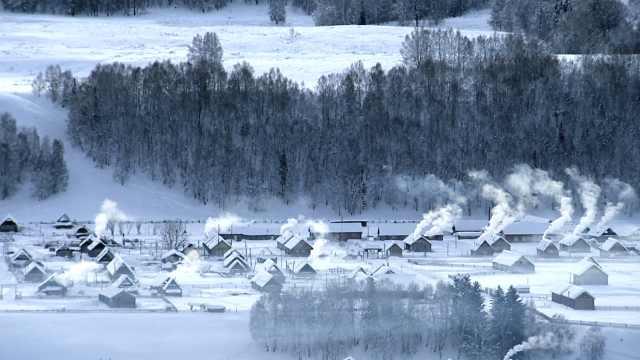 谁是中国最美雪乡?这里一年长达9个月雪季