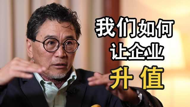 蔡洪平:我们如何让企业升值?