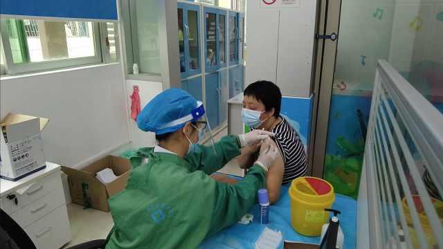 现场直击!深圳开启最大规模的疫苗接种!