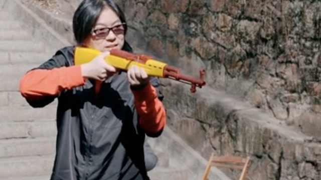 高晓松射击挑战遭遇滑铁卢