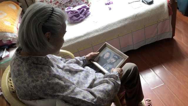 亲送丈夫上抗日前线,百岁老人苦等77年后找到爱人牌位