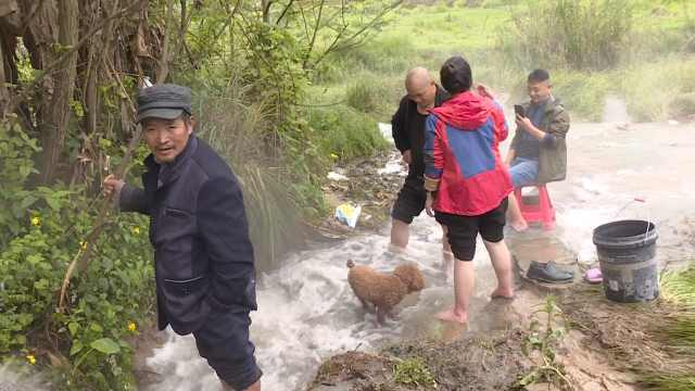 重庆长寿钻出51℃温泉日出水量8300方,四川人组队开车来泡