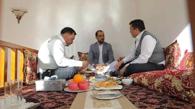 阿富汗的餐桌礼仪