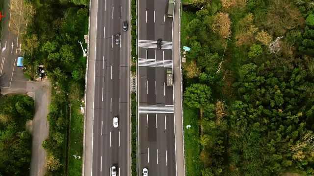"""中国最繁忙高速""""穿越""""大片来了"""