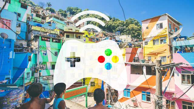 一场比赛吸引200支战队5万人报名!电竞成为巴西贫民窟新希望