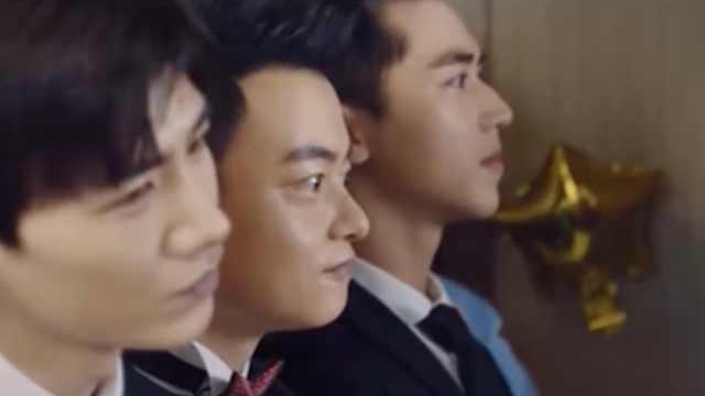 《荣耀乒乓》:白敬亭、许魏洲饰演的徐坦于克南一起当伴郎