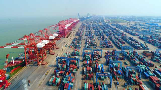 沿着高速看中国|南沙港打造粤港澳大湾区首个全自动化码头