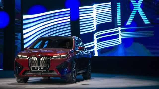 属实震撼!创新BMW iX领衔全品牌亮相