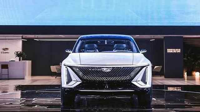 美式豪华逆袭?凯迪拉克纯电概念车全球首发