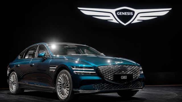 捷尼赛思亮相上海车展,纯电G80全球首发