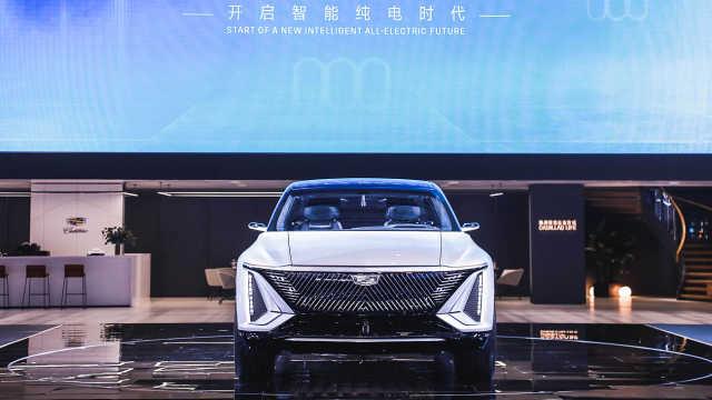 凯迪拉克智能纯电概念车LYRIQ上海车展全球首秀
