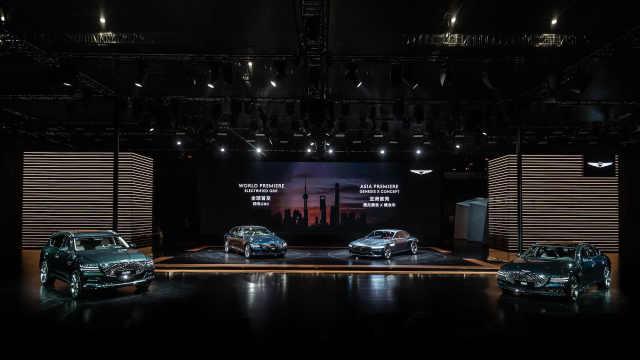 捷尼赛思2021上海车展全球首发旗下首款纯电车型