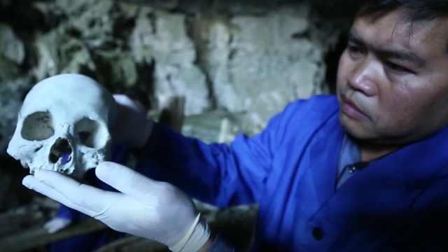 西游记中的白骨洞真的存在吗?一洞穴居然停放430具棺木
