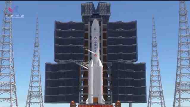 """5分钟3D动画带你回顾""""天问一号""""飞向火星的295天"""