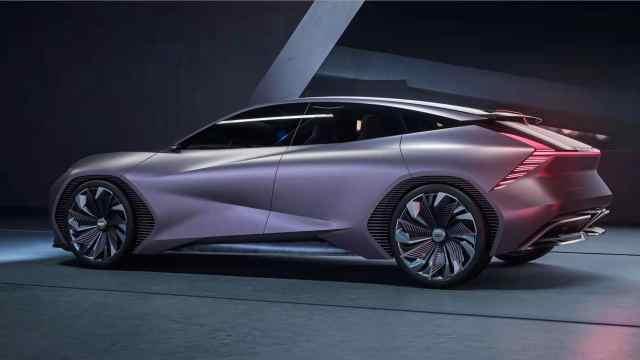 赛博朋克科技风,吉利新款概念车发布