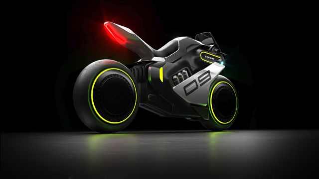 氢电混动,3s百米加速,九号新能源摩托车