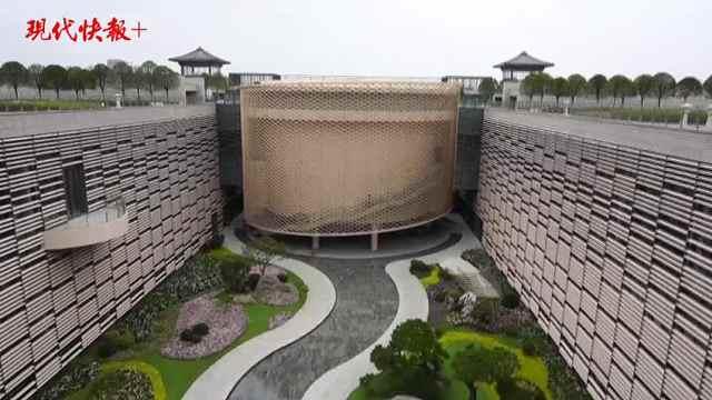 """中国大运河博物馆隐藏最深的""""美颜"""",原来是内庭院!"""