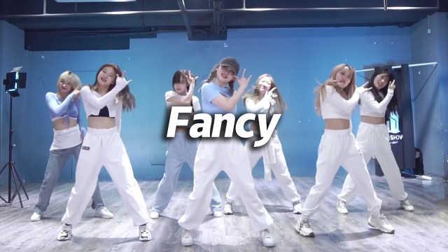 乐舞秀翻跳《Fancy》,夏日心动