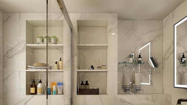 卫生间墙壁还有妙用?巧妙设计好壁龛,卫生间能多出3㎡!