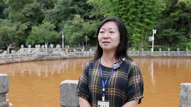 2100年历史黑龙潭清水再次一夜变红!专家:雨季搅乱循环系统